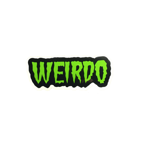 Weirdo Sticker