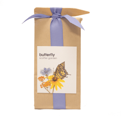 image of butterfly scatter garden