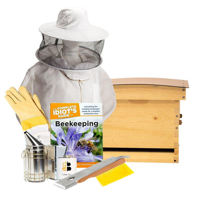 Deep Standard Langstroth Hive Starter Kit for beekeeping