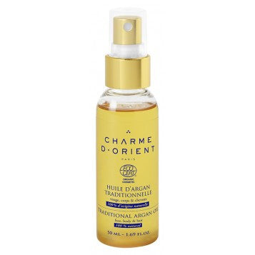 CHARME D'ORIENT Organic Argan Oil Traditional 50ml