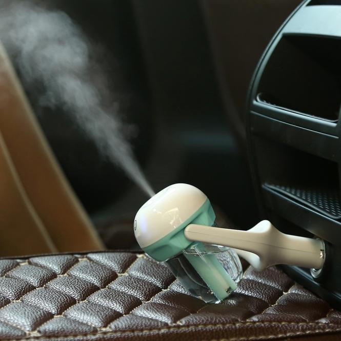 Dual Usb Car Cigarette Lighter Air Aromatherapy Humidifier Nebulizer Diffuser | Edlpe