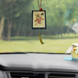 Divya Mantra Combo Of Orange Flying Hanuman and Hanuman Car / Wall Hanging - Divya Mantra