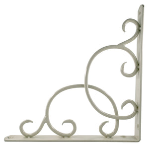 2x CURLY 230 - Wall Mounted Shelf Brackets with hardware