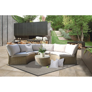 MALVERN - Relaxing Modular Semi-Circle Lounge Set