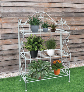 RESERVOIR - Flower Shelves/Pot Plants 3-Tiers Stand