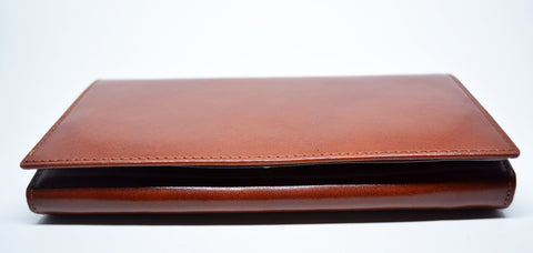 Large Leather Purse-Tan - edocollection