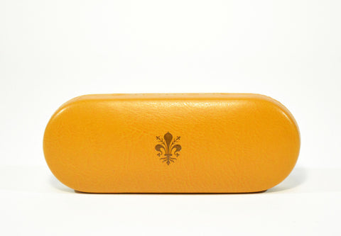 Slim Leather Glasses Case - edocollection