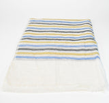 Mens Striped Linen Shawl - edocollection