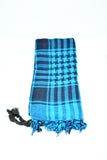 Mens Shemagh Scarf Turquoise - edocollection