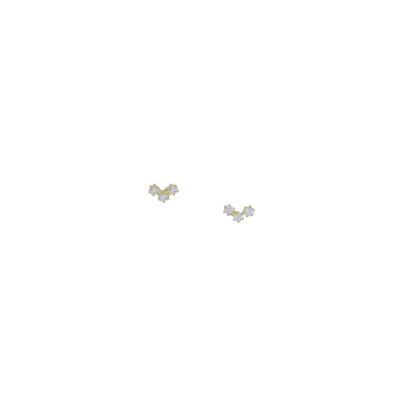 TRIO CRAWLER EARRINGS