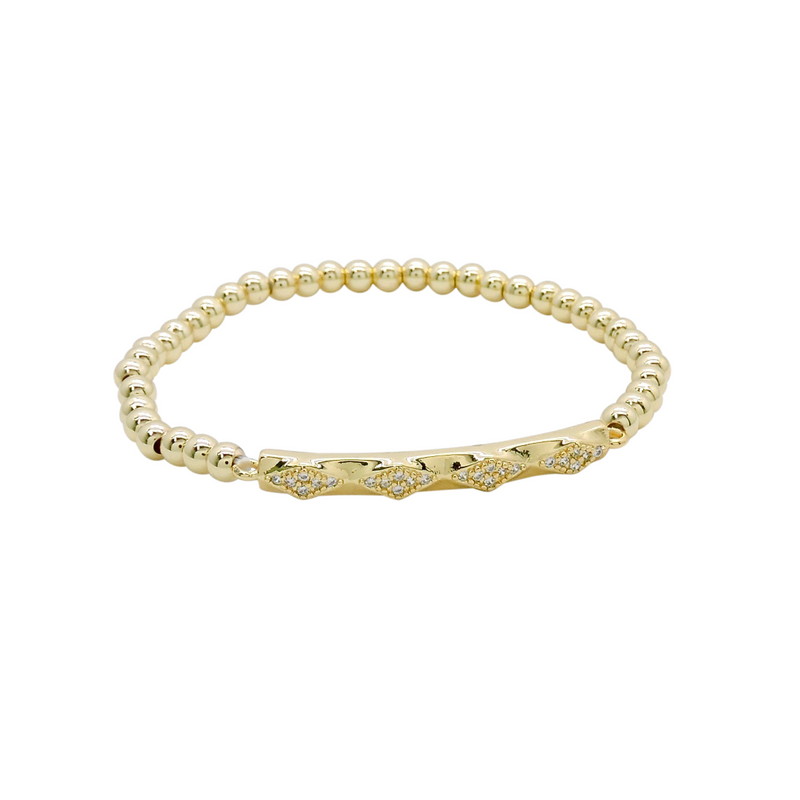DIAMOND BAR BRACELET