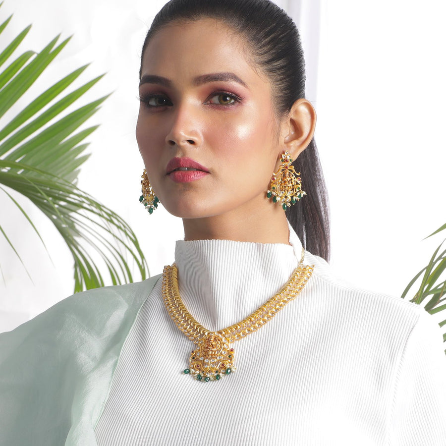 Hiranya Necklace Set