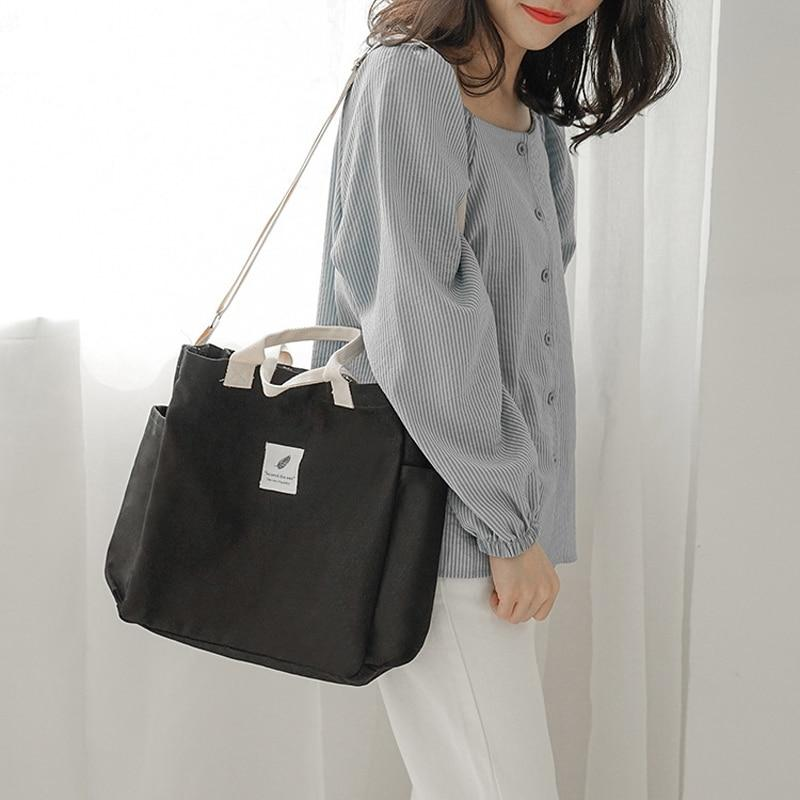 Canvas Korean Tote Bag