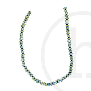 Glass Beads, Glass, Beads, Glass, Green Iris, Green, Iris, Faceted, Rondell, 3x4mm, 8x10mm, 8mm, 10mm, 3mm, 4mm