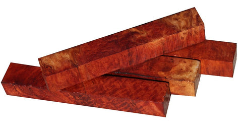 Red Mallee Burl Pen Blanks 3/4""