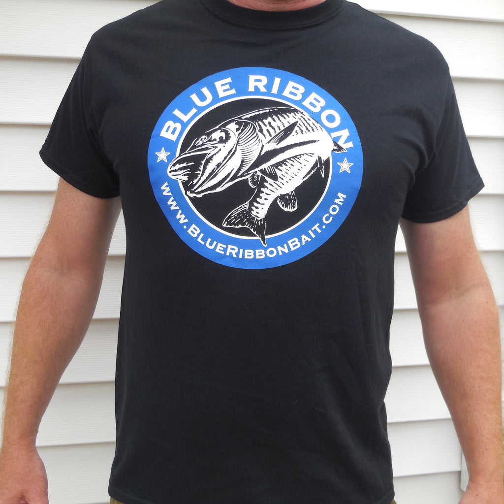 Blue Ribbon Bait & Tackle | Black T-Shirt