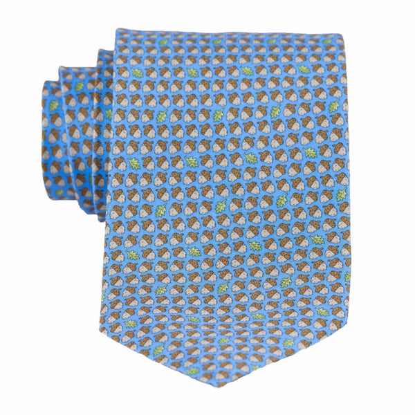 Acorns - Print Extra Long Tie