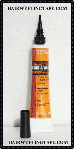 Liquid Gold Bond A Weave ~ Hair Extension adhesive 1/2 oz size tube