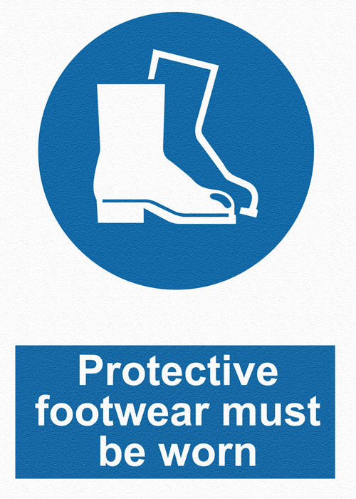 Mandatory - Protective Footwear Must Be Worn - IRONmarker Ultra