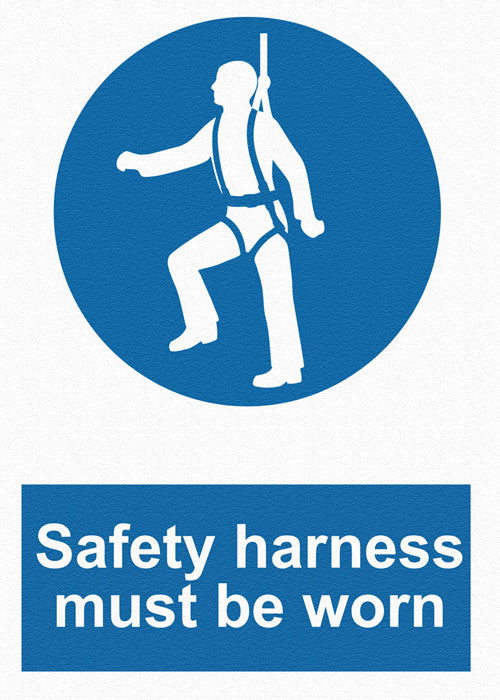 Mandatory - Safety Harness Must Be Worn - IRONmarker Grip