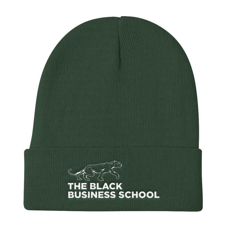 Black Business School Beanie