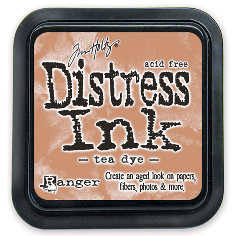 Distress Ink Pad - Tea Dye (Regular Size)