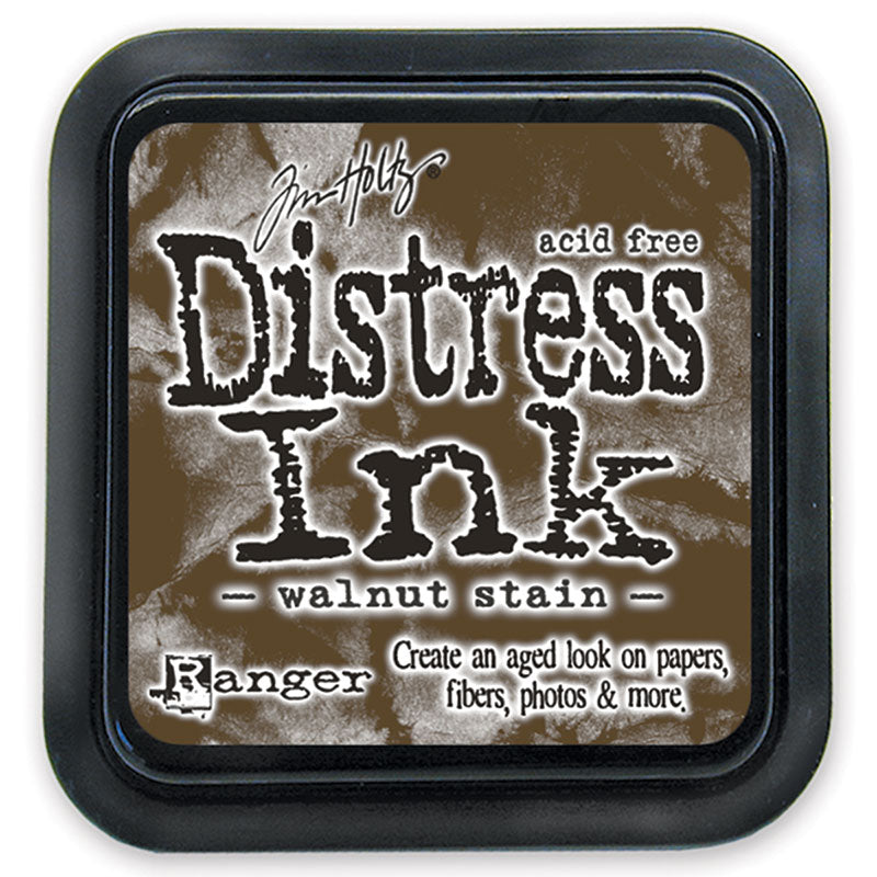 Distress Ink Pad - Walnut Stain  (Regular Size)