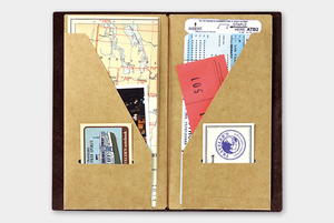 Traveler's Company Kraft File Folder (Regular Size) from micmoc.com at Mic Moc Curated Emporium
