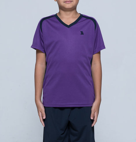 Island School Unisex PE T-Shirt, Purple - Einstein