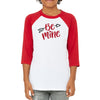 Be Mine Youth Unisex Baseball Tee