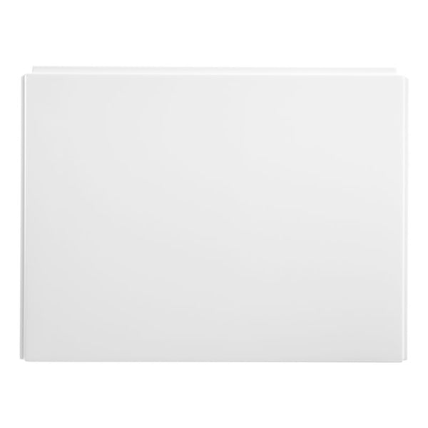 Universal 700mm Shower Bath End Panel - For Allure & Limitless Shower Baths - White