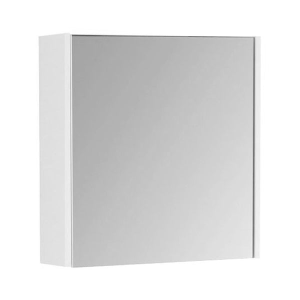 Fortune 450mm Wall Mounted Mirror Bathroom Cabinet - White