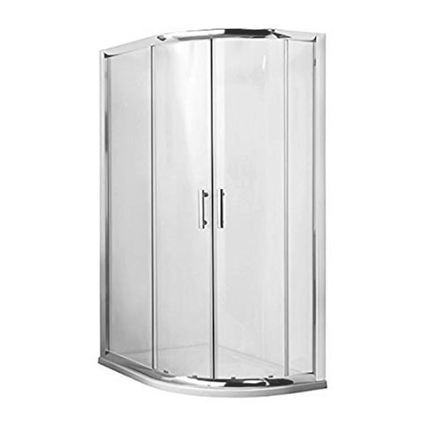 Kiss 900mm x 760mm Offset Quadrant Shower Enclosure