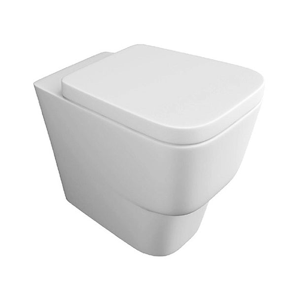 Nicola Back To Wall / Furniture Toilet Pan and Soft Close Toilet Seat