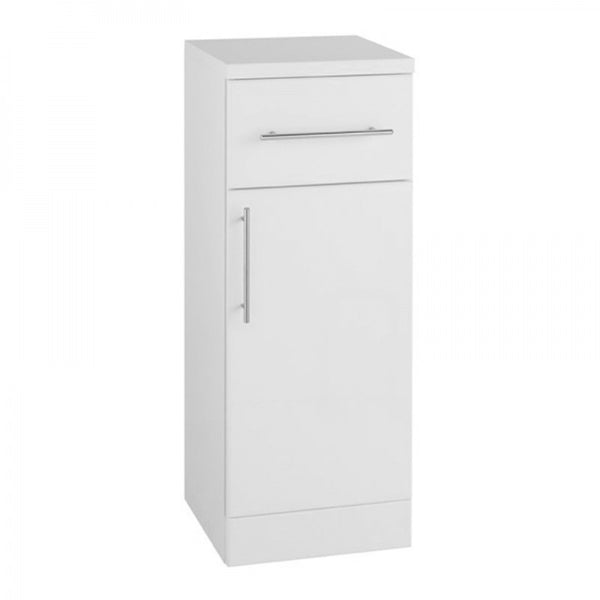 Innovate 300mm x 330mm Single Door Bathroom Furniture Base Unit - White