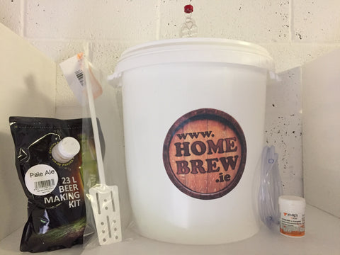 Homebrew.ie Beer Deal 40 Pint Beer Starter Kit with (Beer Included)