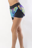 RIO GYM Floral Running Shorts yoga wear for women