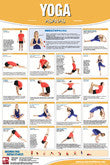 Pilates, Yoga, Ball Fitness Posters
