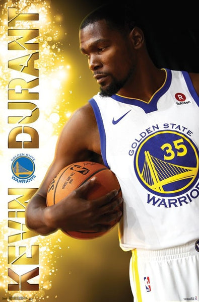 "Kevin Durant ""Shine"" Golden State Warriors NBA Basketball Poster - Trends International 2017"