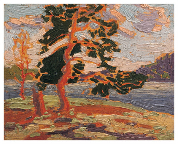 The Pine Tree Canadian Wilderness Art (1916) by Tom Thomson Group of Seven Poster Print - Eurographics Inc.