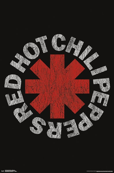 Red Hot Chili Peppers Classic Band Logo Poster - Trends International