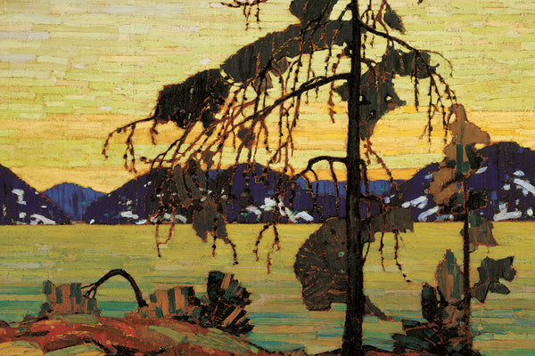 The Jack Pine Canadian Wilderness Art (1917) by Tom Thomson Group of Seven Poster Print - Eurographics Inc.