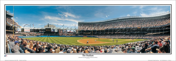 "New York Yankees ""The Stadium"" Old Yankee Stadium Panoramic Poster Print - Everlasting Images 2004"