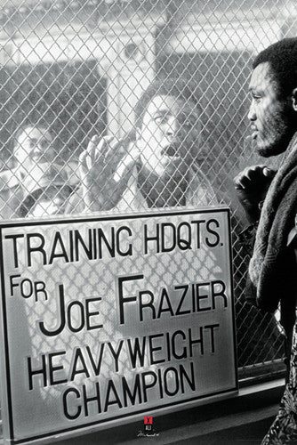 "Muhammad Ali vs. Joe Frazier ""Window Taunt"" (1971) Poster - Pyramid America"