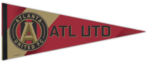 Atlanta United FC Official MLS Soccer Premium Felt Collector's Pennant - Wincraft Inc.