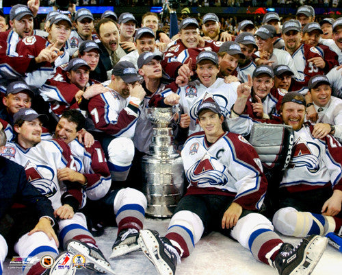 Colorado Avalanche 2001 Stanley Cup On-Ice Celebration Poster Print - Photofile Inc.