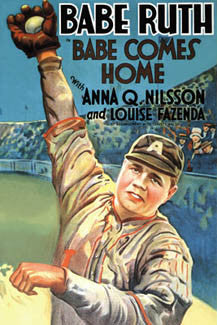 """Babe Comes Home"" Movie Poster Reprint - Eurographics"