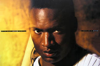 "Bo Jackson ""It's Not Over..."" Baseball Poster (Chicago White Sox) - Nike 1991"