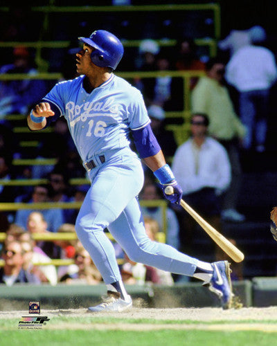 "Bo Jackson ""Blast"" (c.1987) Kansas City Royals Premium Poster Print - Photofile Inc."