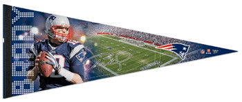 "Tom Brady ""Gameday"" Premium Felt Pennant - Wincraft Inc."
